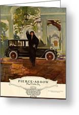 Pierce-arrow  1920s Usa Cc Cars Pierce Greeting Card