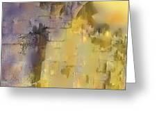 Piercing The Castle Walls Greeting Card