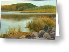 Piermont Shoreline Greeting Card