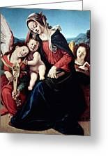 Piero Di Cosimo Greeting Card