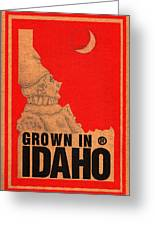 Pierrot Of Idaho Greeting Card
