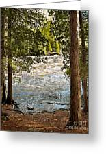 Piers Gorge Greeting Card