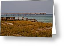 Pierview Greeting Card
