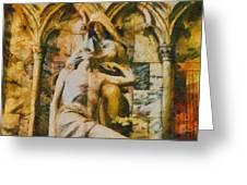 Pieta Masterpiece Greeting Card