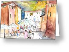 Pietrasanta In Italy 03 Greeting Card