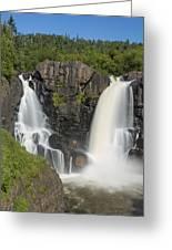 Pigeon River High Falls 11 Greeting Card