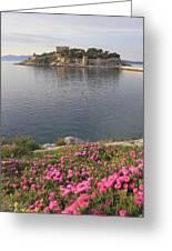 Pigeon Island Kusadasi Turkey  Greeting Card