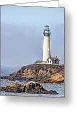 Pigeon Point Greeting Card by Heidi Smith