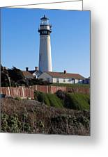 Pigeon Point Lighthouse Greeting Card