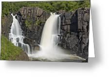Pigeon River High Falls 10 Greeting Card