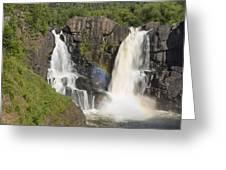 Pigeon River High Falls 4 Greeting Card