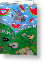 Pigs Can't Fly Greeting Card
