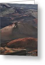 Pihanakalani Haleakala Volcano Sacred House Of The Sun Maui Hawaii Greeting Card