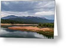 Pikes Peak From Crystal Creek Reservoir  Greeting Card