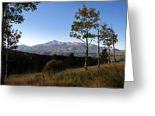 Pikes Peak Landscape Greeting Card