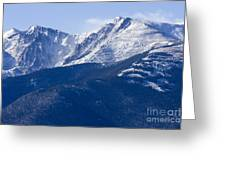 Pikes Peak Greeting Card