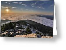 Pilchuck West  Greeting Card