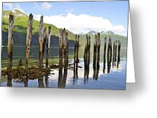 Pilings Greeting Card