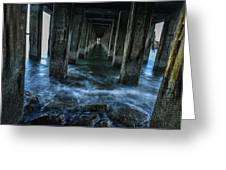 Pillars In San Francisco California... Greeting Card