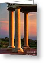 Pillars Of Life Greeting Card