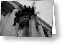 Pillars Upon Pillars Greeting Card