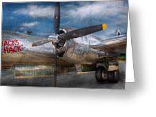 Pilot - Plane - The B-29 Superfortress Greeting Card