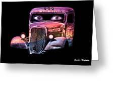 Pin Up Cars - #3 Greeting Card
