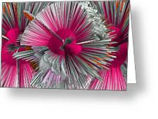 Pinache 3 Greeting Card by Angelina Vick
