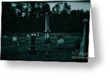 Pine Hill Cemetery Greeting Card