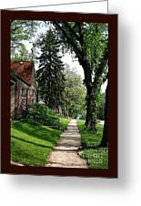 Pine Road Greeting Card