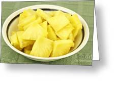 Pineapple Chunks Greeting Card