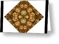 Pineapple Skin Greeting Card by Roberto Alamino
