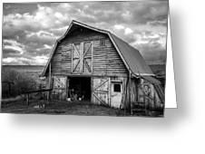 Pinedale Barn Greeting Card