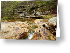 Piney Creek In Southern Illinois Greeting Card