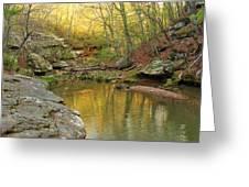 Piney Creek Reflections Greeting Card