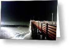 Pinhole Oceanside Pier Greeting Card