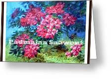 Pink Afternoon  Greeting Card