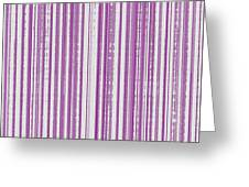 Pink And White Paper Greeting Card