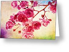 Pink Blossom - Watercolor Edition Greeting Card