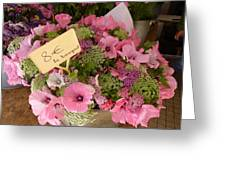 Pink Bouquet Greeting Card