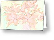 Pink Bunch Greeting Card