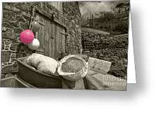 Pink Buoy  Greeting Card