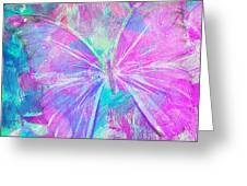 Pink Butterfly By Jan Marvin Greeting Card