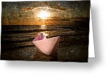 Pink Dreams Greeting Card by Stelios Kleanthous