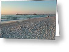 Pink Florida Sands Greeting Card