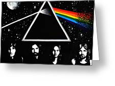 Pink floyd dark side of the moon painting by hannah florek pink floyd dark side of the moon greeting card bookmarktalkfo Image collections