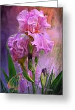 Pink Goddess Greeting Card