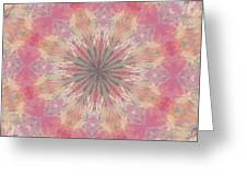 Pink Healing Mandala Greeting Card