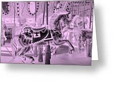 Pink Horse Greeting Card