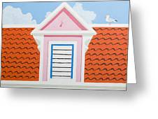 Pink House Greeting Card